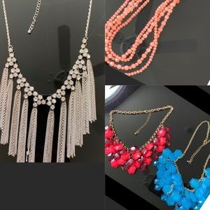 Bundle 4pc necklace